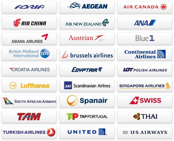 Liste des compagnies aériennes membre de Star Alliance